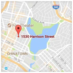 map of 1530 Harrison Street