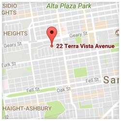 map of 22 Terra Vista Avenue