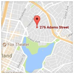 map of 276 Adams Street